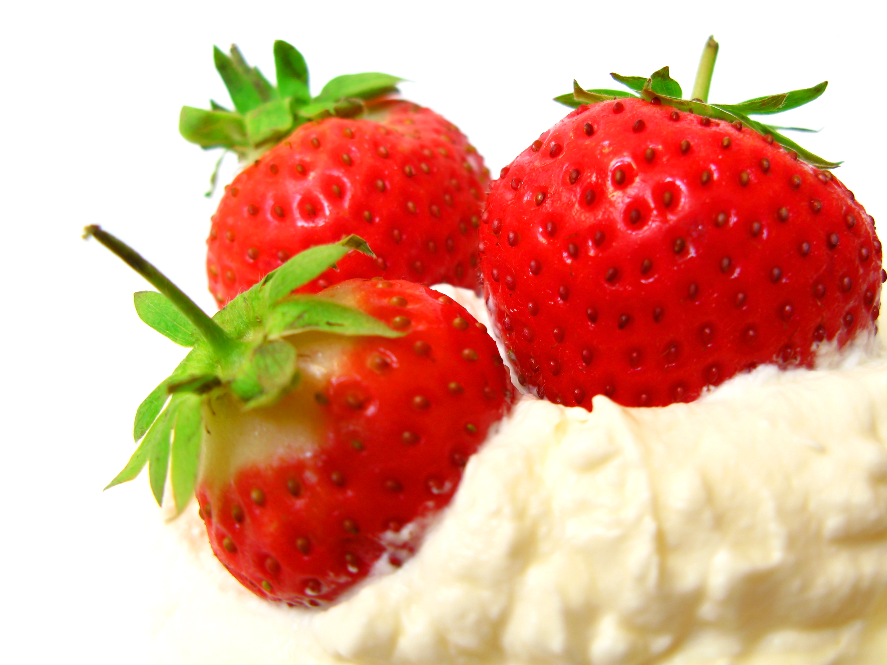 strawberries and cream | body mind and stomach
